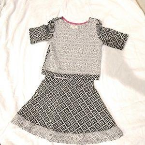 GB girls skirt set